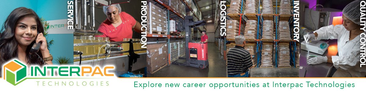 Food Manufacture Line Lead/Supervisor at Interpac Technologies