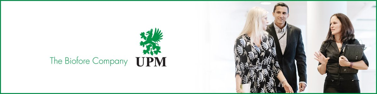 Business Development Manager at UPM