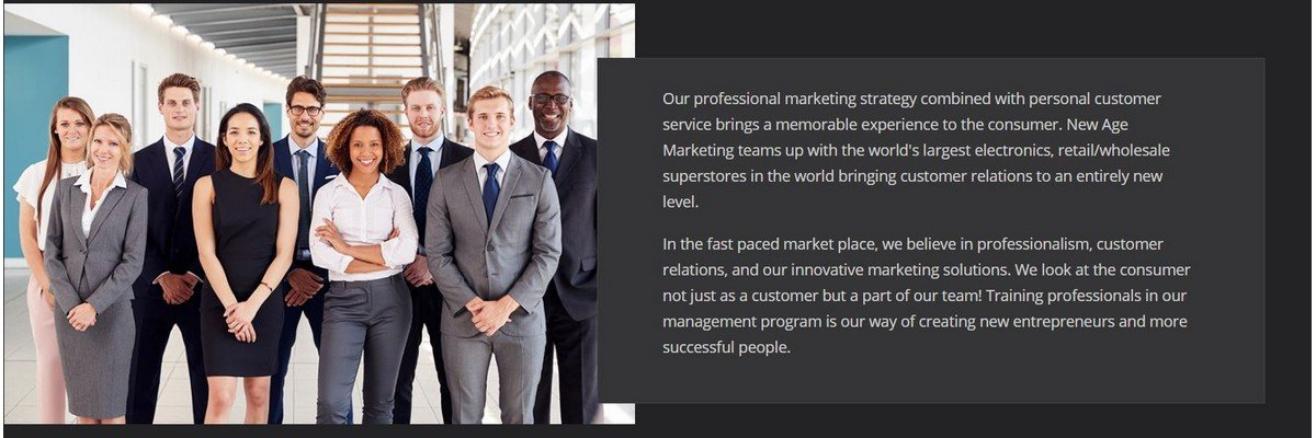 Entry Level - Direct Marketing & Sales - Now Hiring! at New Age Marketing Inc.