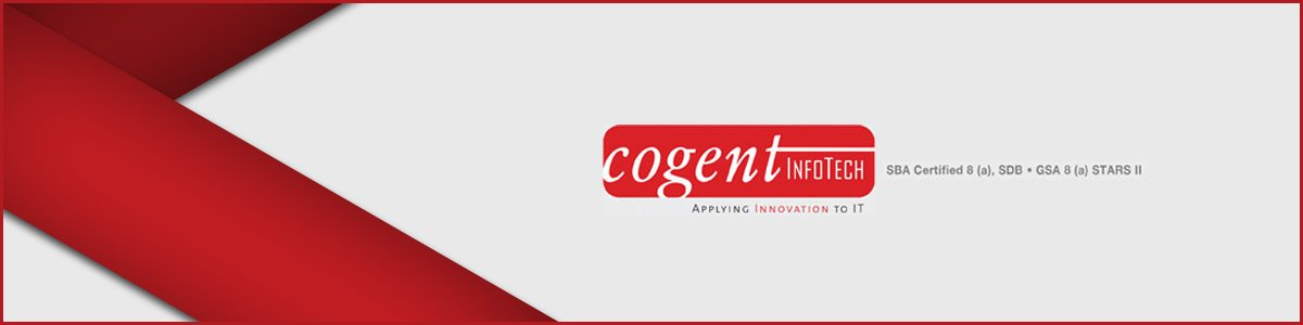 IT Applications Manager (On Site) at Cogent Infotech.