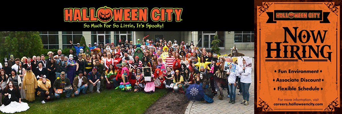 Halloween City Seasonal Sales Associate at Halloween City