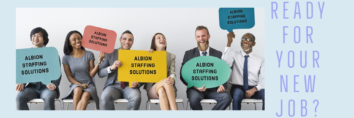 Administrative Support at Albion Staffing Solutions