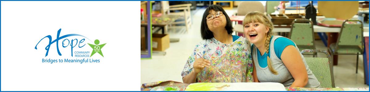Volunteer at Hope Community Resources