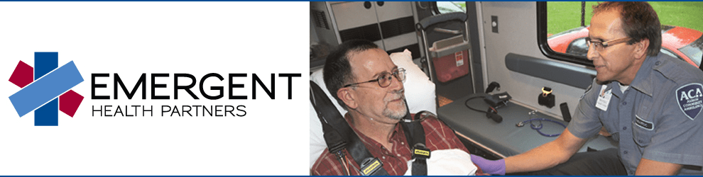 Paramedic Part Time at Emergent Health Partners