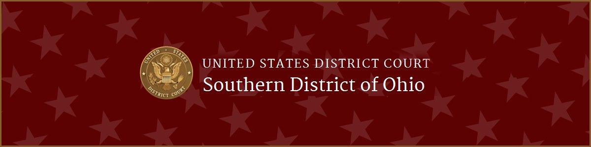 Court Services Manager at U.S. District Court : Ohio Southern District