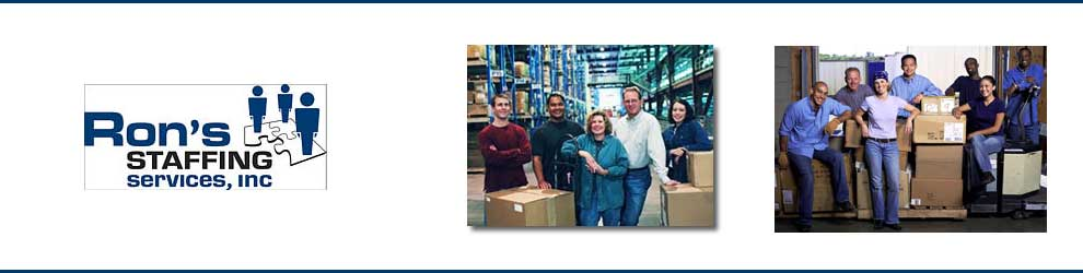 Forklift Driver- Forklift Operator at Ron's Staffing