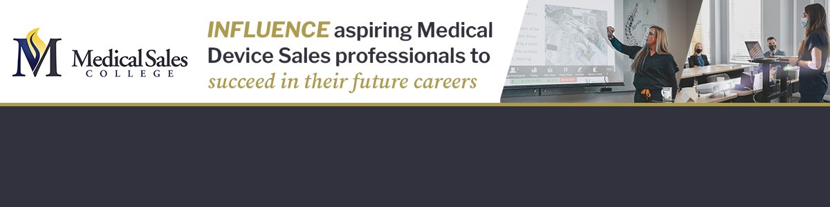 Orthopedic Medical Device Sales - Instructor at Medical Sales Recruiting