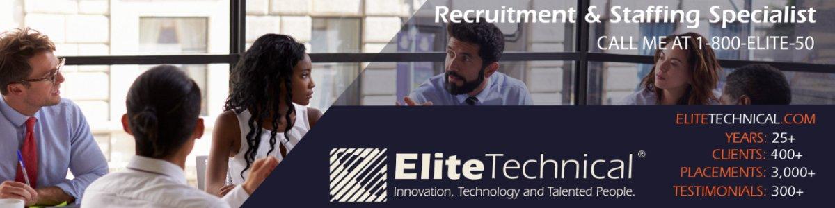 Full Desk Recruiter - Remote position at Elite Technical