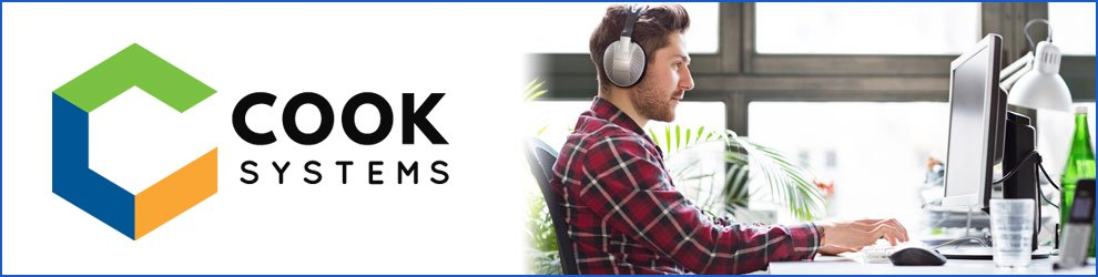 Java Developer at Cook Systems