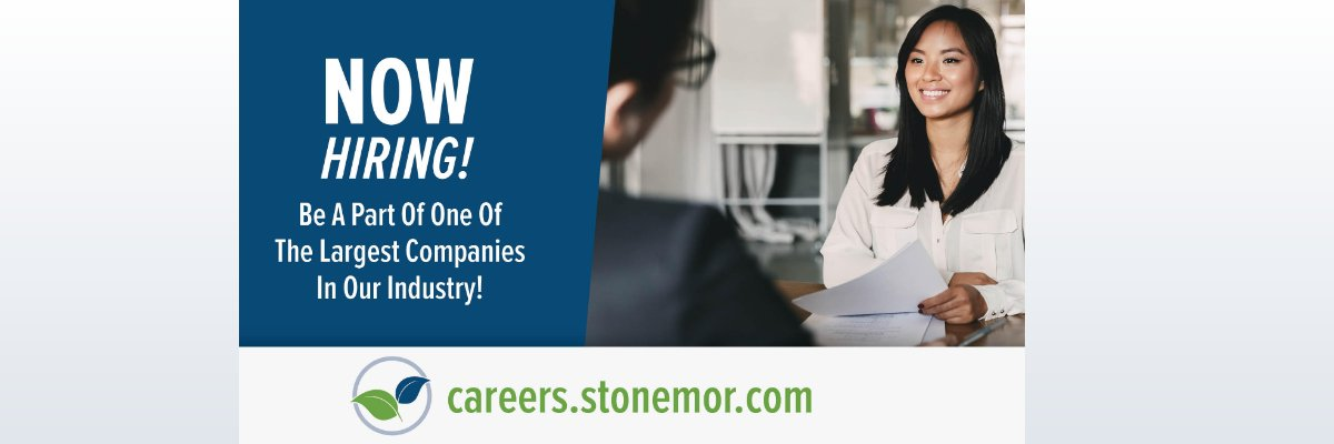 Sales Representative at StoneMor Inc.