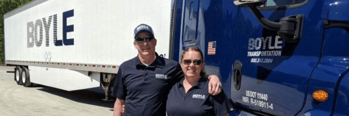 Class A CDL Team Drivers at Boyle Transportation