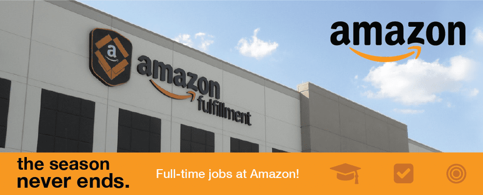 Up to $830 per week-Full Time Amazon Warehouse Team Member-Trenton NJ at Amazon