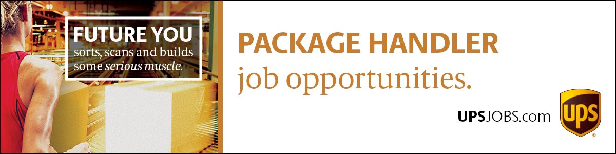 Warehouse Worker - Package Handler at UPS